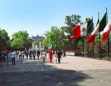 Different picture of Chapultepec Park