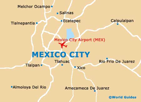 Mexico City Maps and Orientation: Mexico City, Federal ...