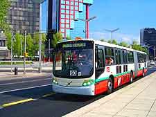 Image of the city's Metrobus