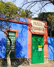 Image of the Museo Frida Kahlo (Frida Kahlo Museum)
