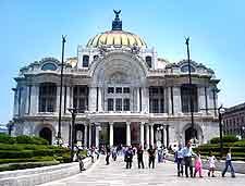 Photo showing the Teatro del Palacio de Bellas Artes