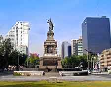 Further picture of the Paseo Reforma area