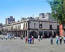 View of the Plaza de Santo Domingo