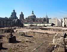 Templo Mayor photograph (Main Temple)