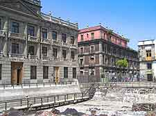 Photograph of the Templo Mayor in Mexico City