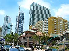 Image of Downtown Miami's Brickell Financial District