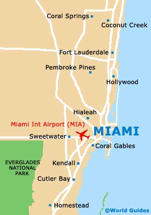 Small Miami Map