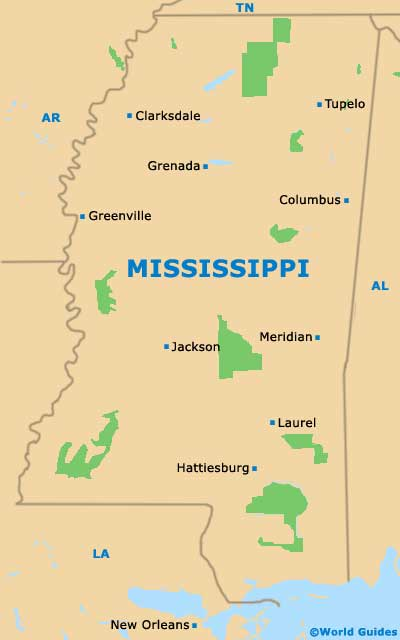 Jackson Maps And Orientation Jackson Mississippi MS USA - Mississippi in usa map
