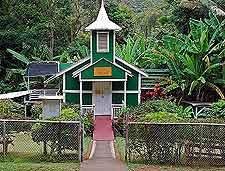 Photo of church in the Halawa area of the island