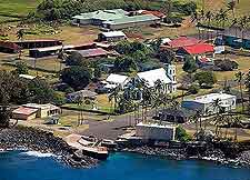 Image of Kalaupapa, taken from above