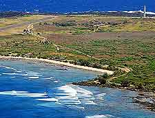Picture showing the coast of the Kalaupapa National Historical Park