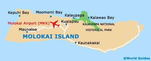 Small Molokai Map