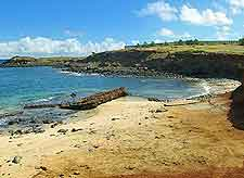 Moomomi beachfront photograph
