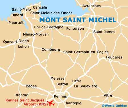 Mont Saint Michel Attractions Nearby Mont Saint Michel Normandy