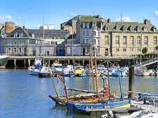 Cherbourg harbour view