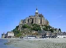 Photo of Normandy's famous Mont Saint Michel