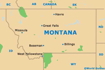 West Yellowstone Maps And Orientation West Yellowstone Montana - Montana state usa map