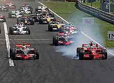 Photo showing Monte Carlo's famous Grand Prix