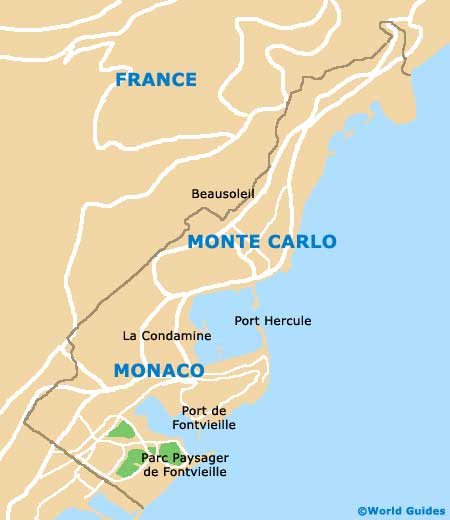Small Monte Carlo Map