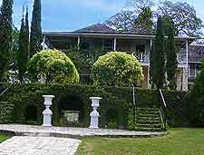 Photo showing the Bellefield Great House, Montego Bay
