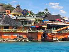 Photo showing the popular Margaritaville Restaurant on Coconut Drive, Montego Bay