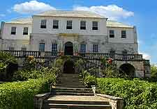 Image showing the Rose Hall Great House, a historic plantation mansion based in Montego Bay