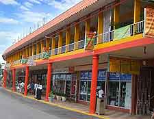 Photo of local shopping scene at Montego Bay