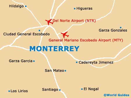 small monterrey map