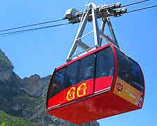 Photo of cable car ride at Grutas de Garcia