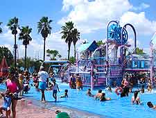 Photo of water park at the Parque Plaza Sesamo