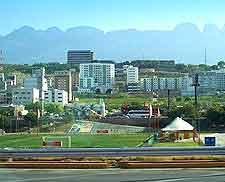 Monterrey city view, showing the skyline