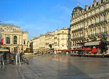Picture of the centre of Montpellier