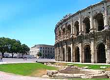 Nimes picture of Roman remains
