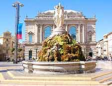 Opera fountain picture