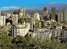 Image of Montreal's skyline
