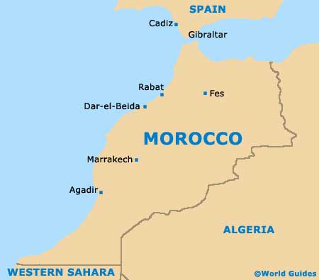 Morocco Tourism and Tourist Information Information about Morocco