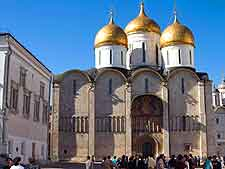 Moscow picture of the Cathedral of the Dormition
