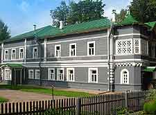 Picture showing the Tchaikovsky House Museum in Klin