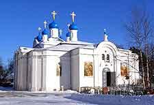 Photo of a Church in the scenic village of Zavidovo