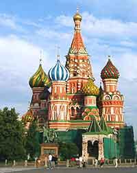 Image of St. Basil's Cathedral (Sobor Vasiliia Blazhennogo)