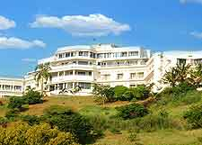 Photo of hotel complex in Mozambique