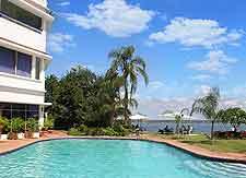 Picture showing the Hotel Cardoso, Avenida Martires de Moeda, Maputo, Mozambique