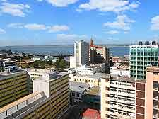 Further rooftop picture of Maputo, Mozambique