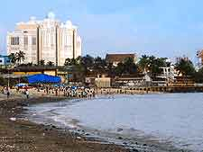 Further view of Girgaum Chowpatty Beach