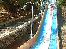 Picture of water slide at Essel World