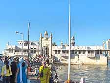 View of the Haji Ali Dargah (Haji Ali Mosque)