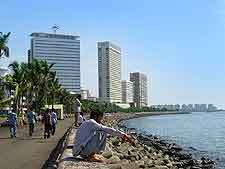 Mumbai Airport (BOM) Directions: Further photograph of Nariman Point, in the South District