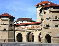 Picture of the Isartor City Gate