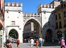 Image of the Karlstor Gate