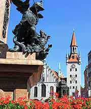 Picture of the Marienplatz